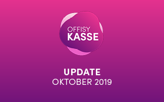 Update offisyKASSE vom 27.10.2019