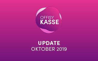 Update offisyKASSE vom 27.10.2019