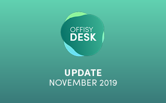 Update offisyDESK am 10.11.2019