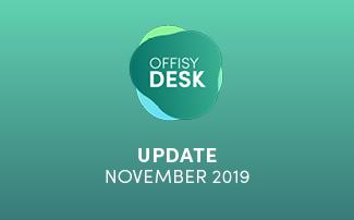 Update offisyDESK am 10.11.2019