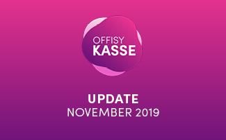offisyKASSE Update am 17.11.2019