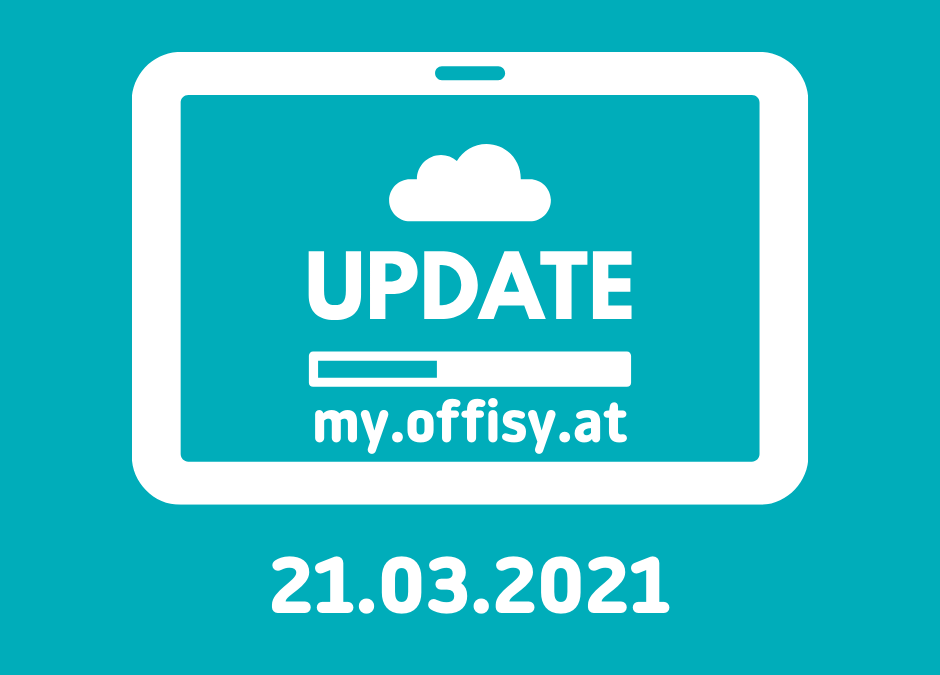 Offisy Update am 21.03.2021