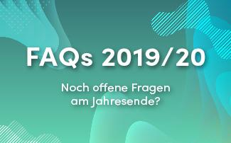 FAQ zum Jahreswechsel 2019/2020