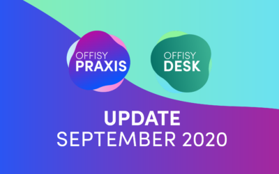 Update offisyDESK & offisyPRAXIS 2020