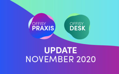 Update offisyDESK & offisyPRAXIS November 2020